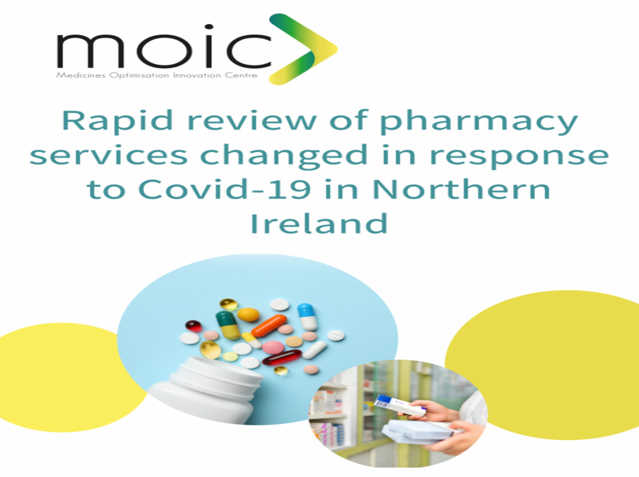 Rapid review of pharmacy services changed in response to COVID-19 in Northern Ireland